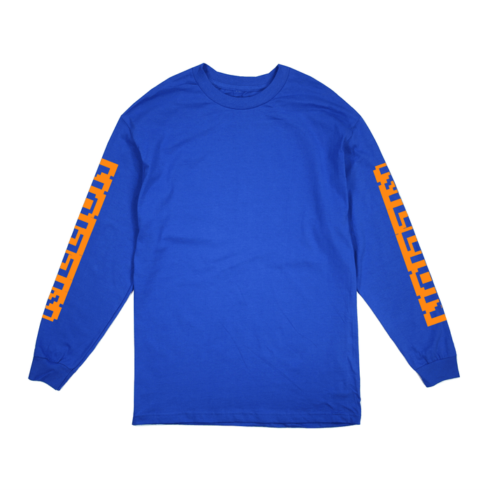 Arcade L/S Tee - Royal Blue