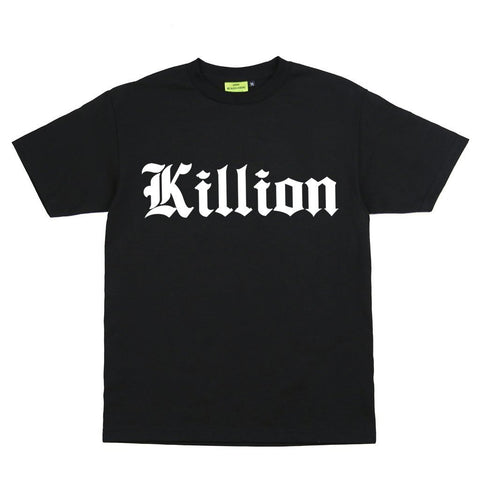 Old English Tee - Black