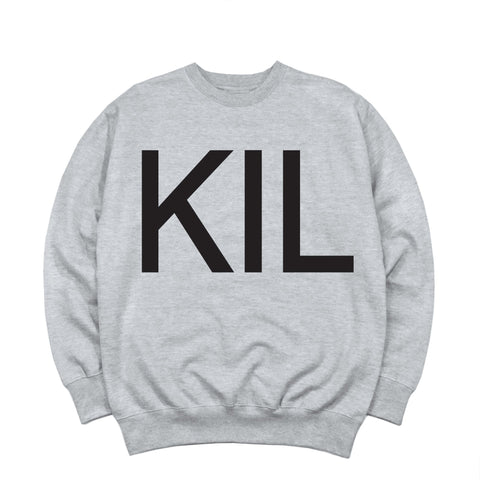 KIL Crewneck - Heather Grey