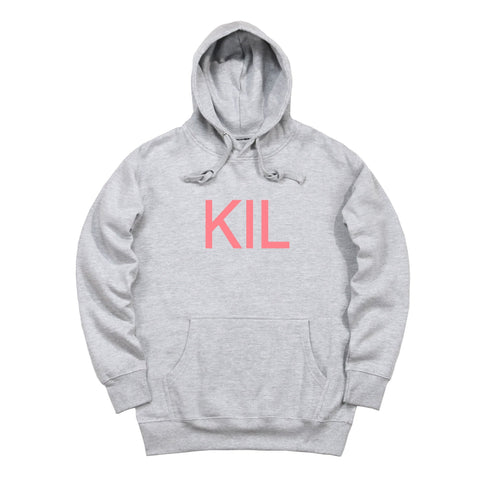 KIL Pullover Hoody - Heather Grey