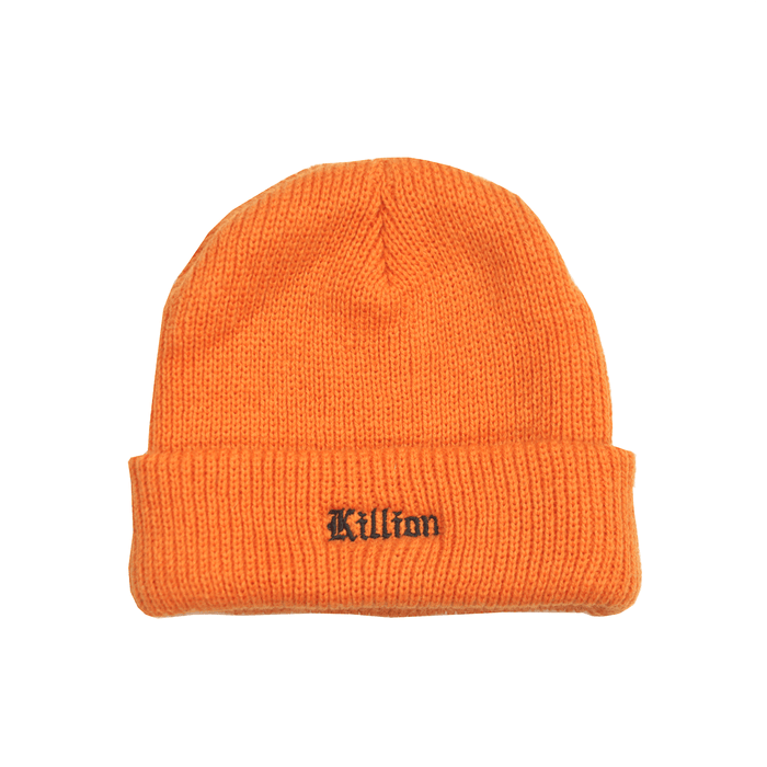 English Logo Beanie - Orange