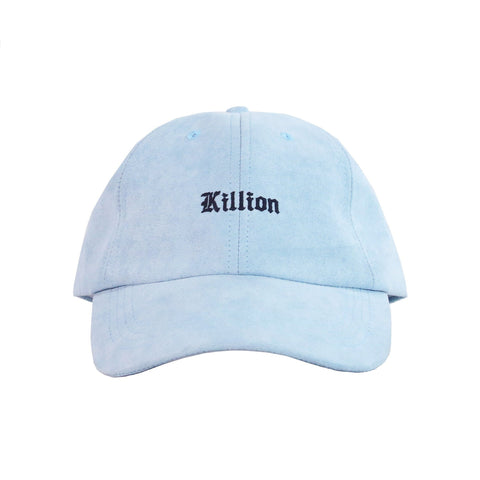 English Suede Dad Hat - Blue (Preorder)