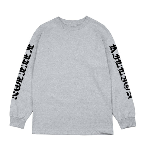 Tunnel Long Sleeve Shirt - Heather Grey