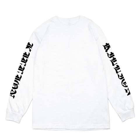 Tunnel Long Sleeve Shirt - White