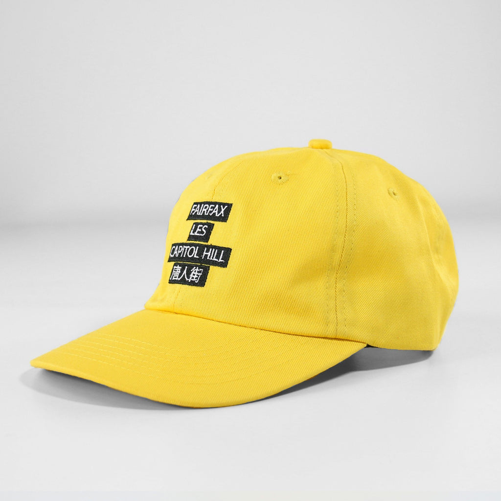 Neighborhood Dad Hat - Yellow
