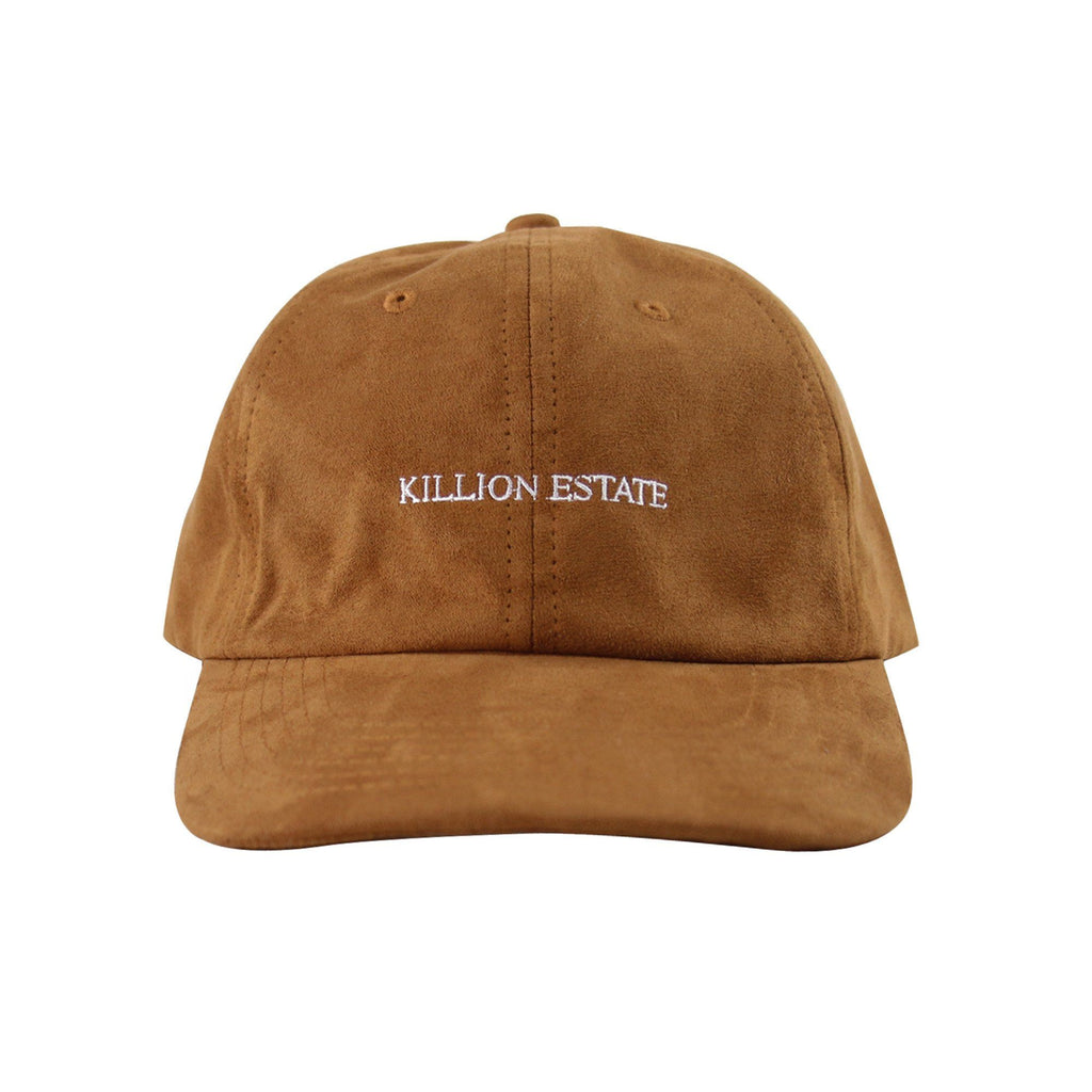 Suede Estate Dad Hat - Brown