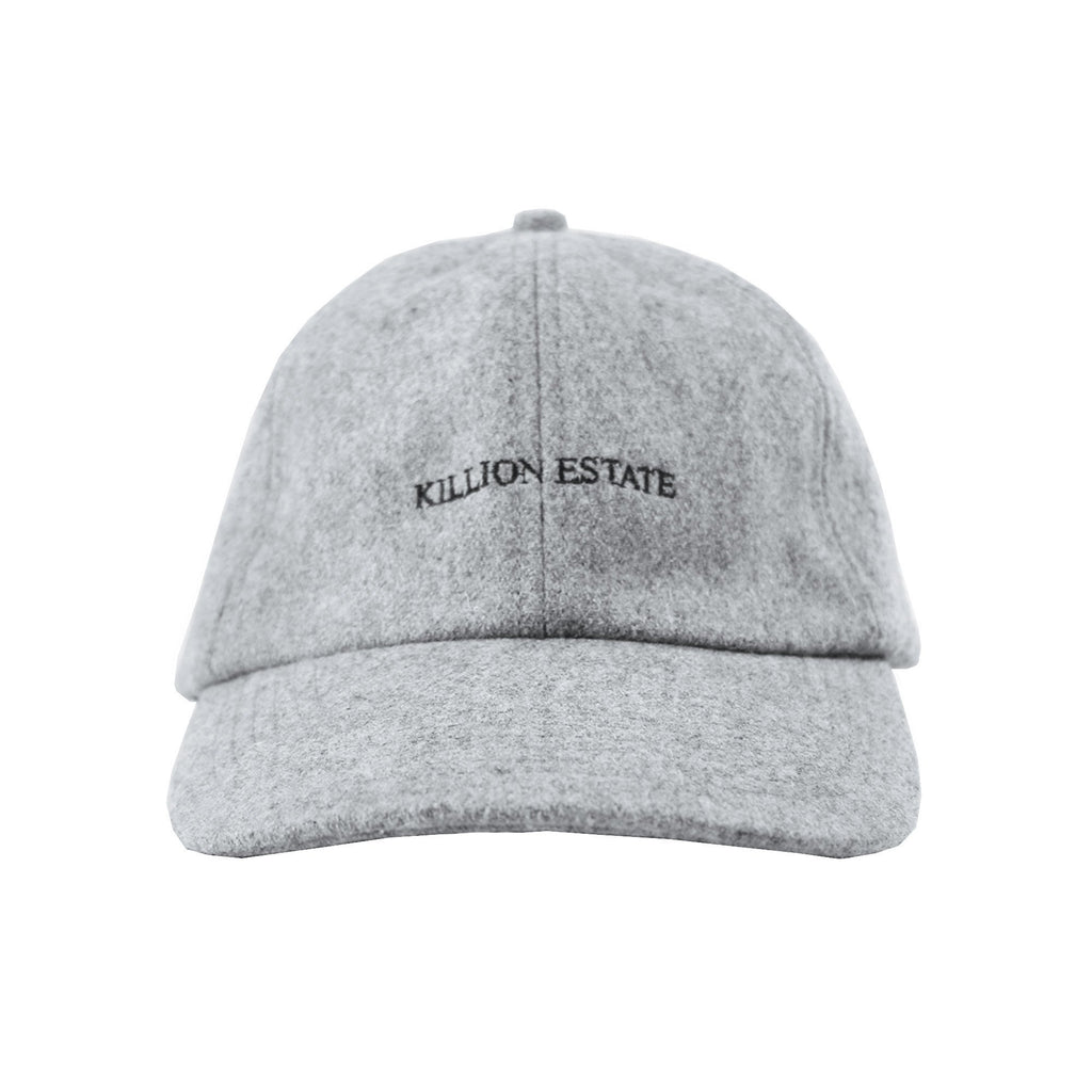 Wool Estate Dad Hat - Grey