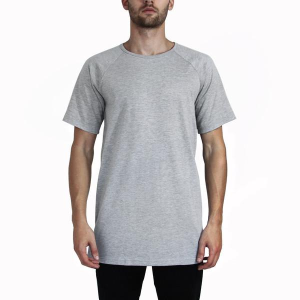 Standard Issue Union Extended Shirt - Heather Grey