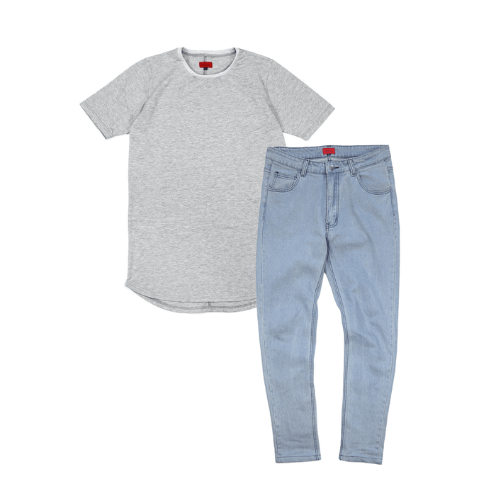 SI 5-Pocket Denim Bundle - Light Blue