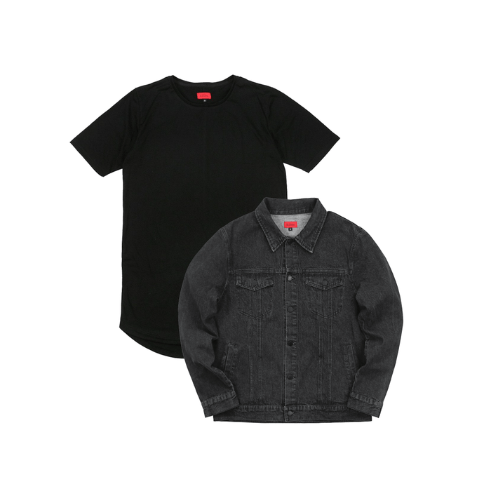 SI Denim Jacket Bundle - Black