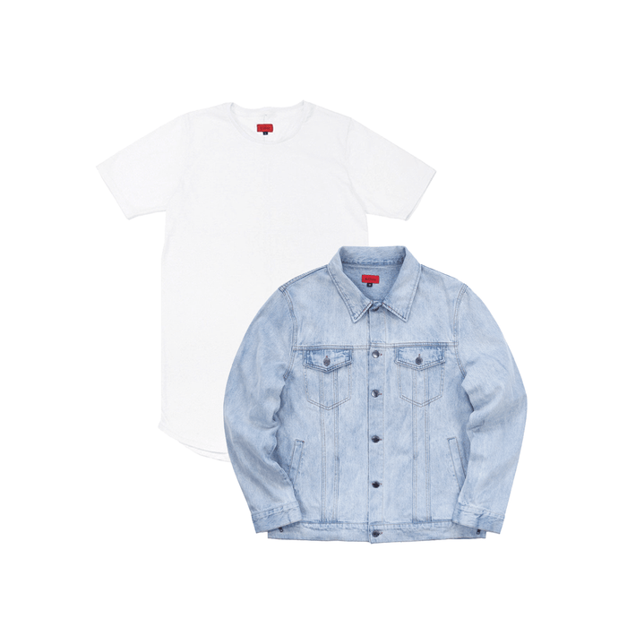SI Denim Jacket Bundle - Bleach Blue