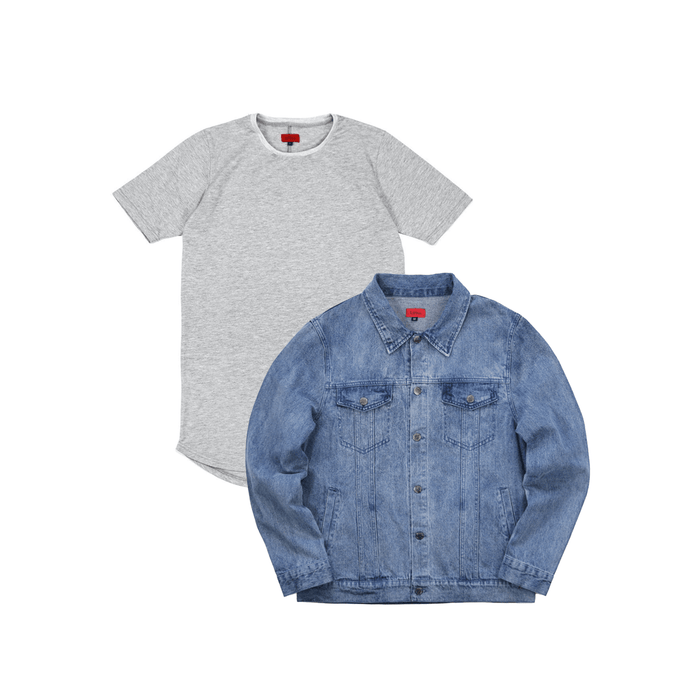 SI Denim Jacket Bundle - Medium Blue
