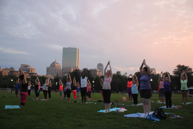 From Yoga on Boston Common event