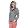 Asymmetric Hoodie - Heather Gray