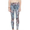 Full Length Leggings - Misty Wilderness print