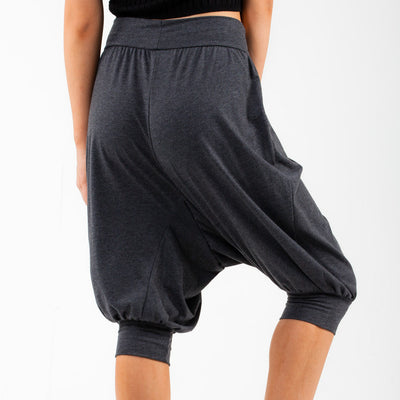 Lounge Capri Pants - Charcoal Gray