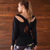 Tear Drop Tunic - Black