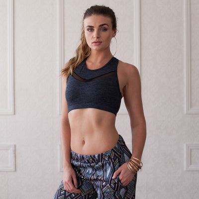 Knockout Bra - Gray