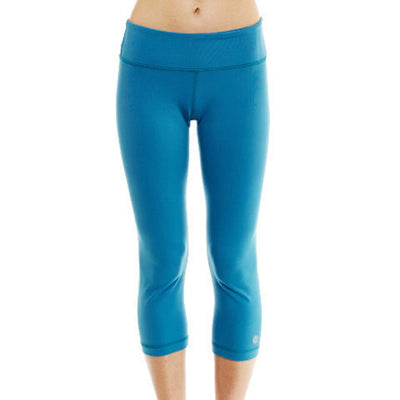Capri Leggings - Teal