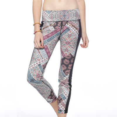 Tuxedo Leggings - Journey print