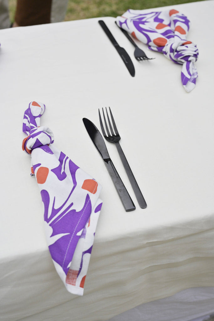 Lilac Bloom Napkin Set