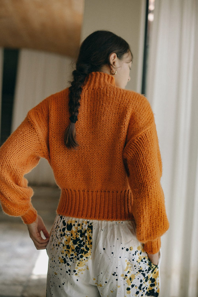 Orange Crop Sweater