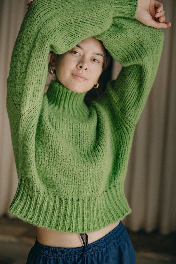 Pear Crop Sweater