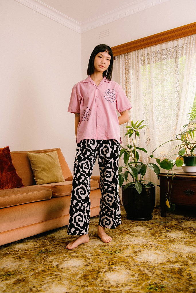 Black Rose Classic Pants