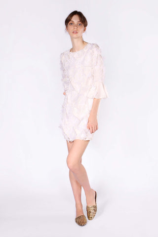 Daisy Chain Dress - White