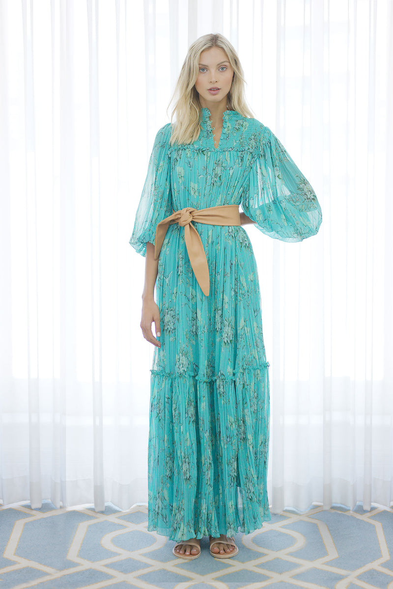 Songbird Maxi Dress in Biscay Green
