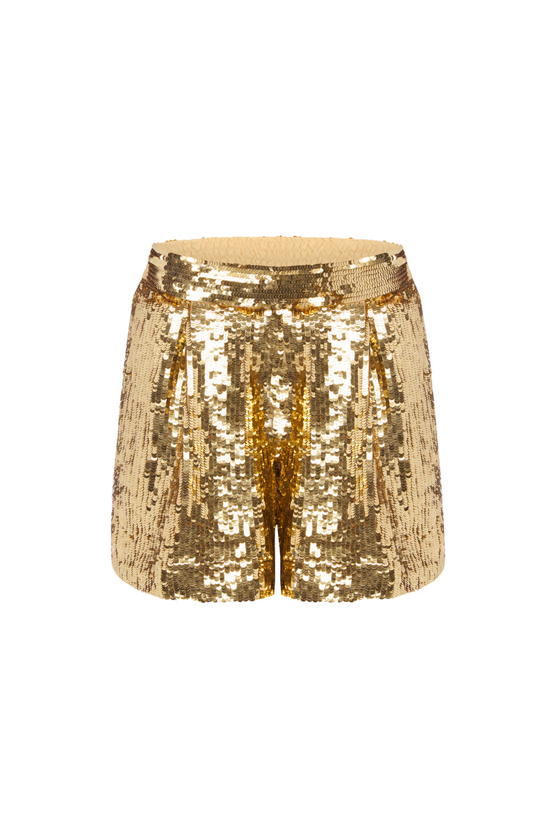 Spinning Around Sequin Shorts