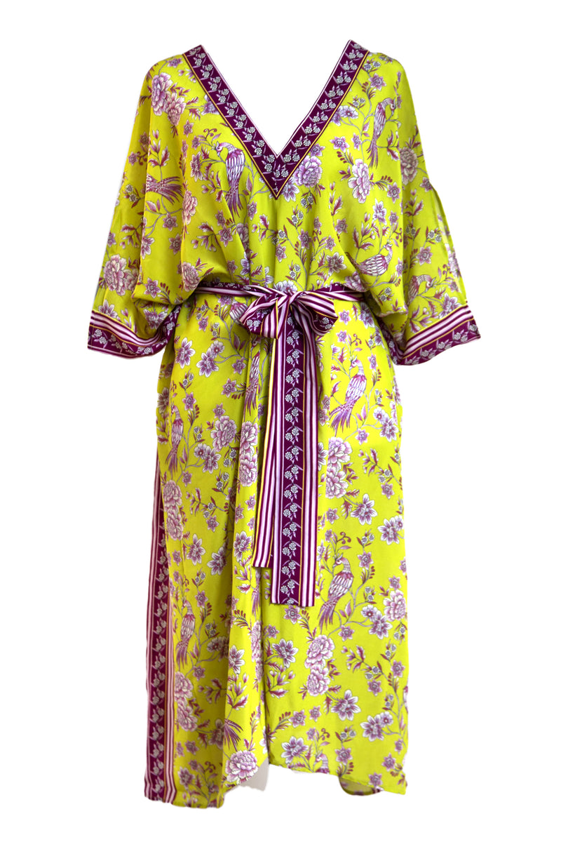 Citrus Chinoiserie Dress