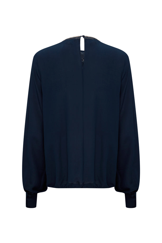 Bijoux Blouse in Midnight