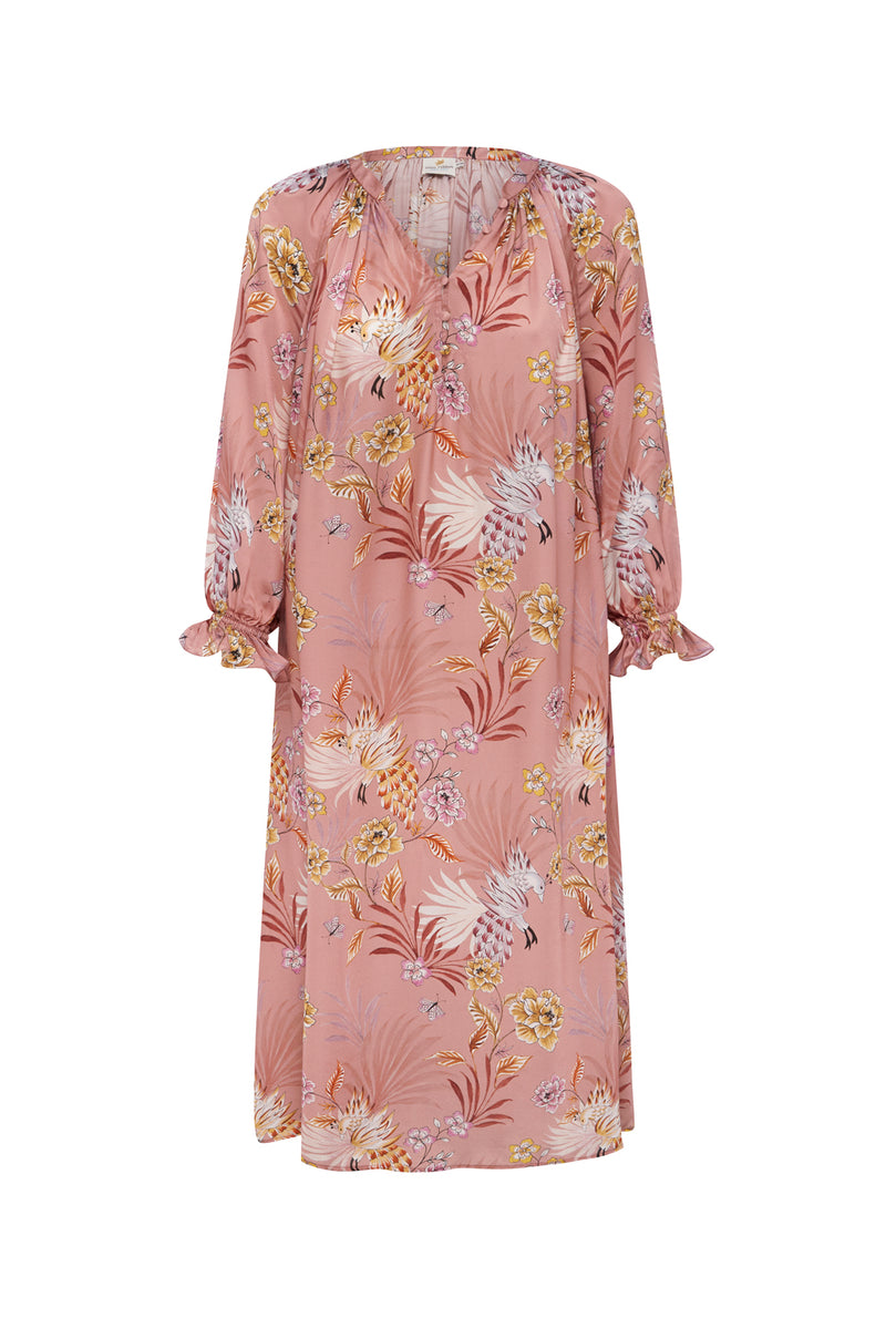 Eva Dress in Blush Floral Print