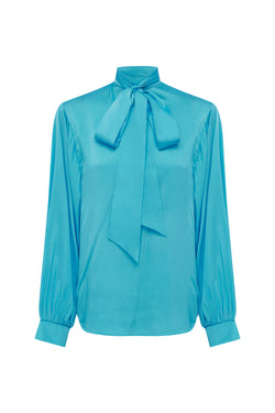 Breakfast at Tiffany's Silk Blouse