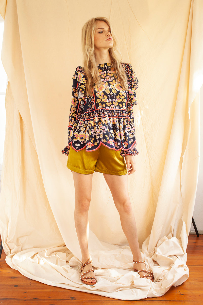 Flame Tree Blouse