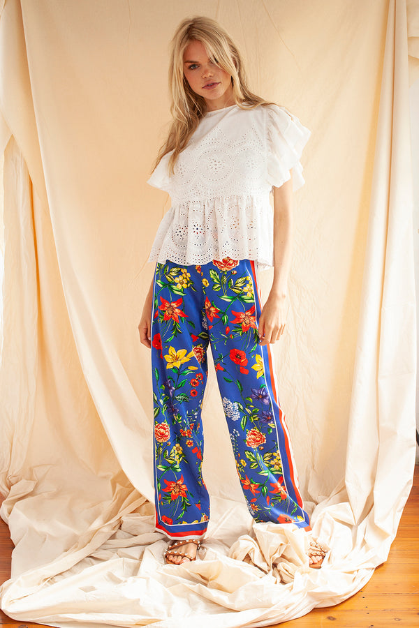 The Endless Summer Trousers in Blue