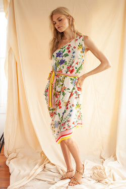 Eden Floral Five-ways dress
