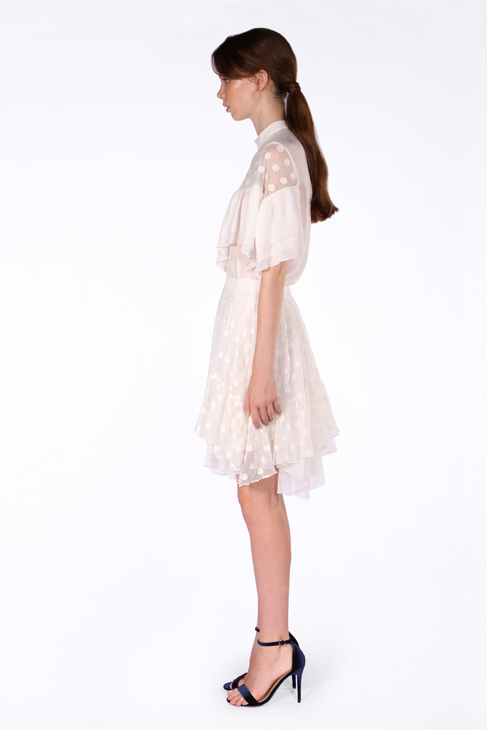 Bronte Lace Blouse - White