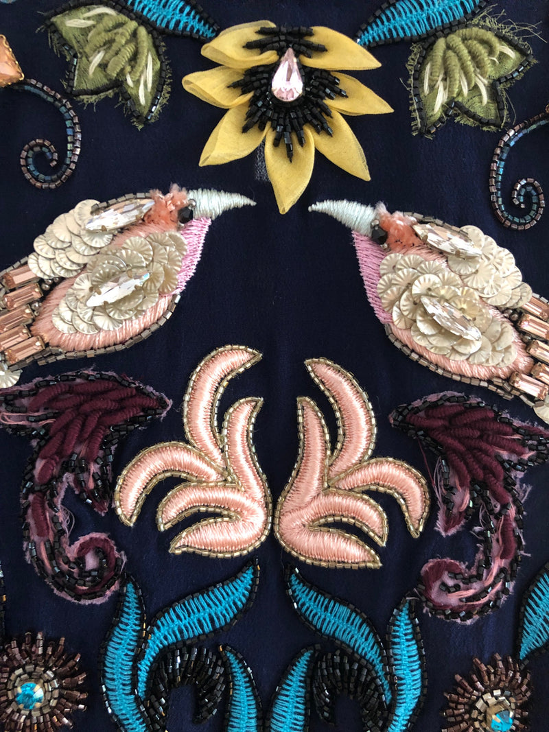 Pretty Birds Embroidered Blouse