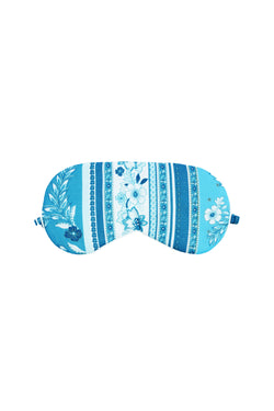 Cici Blue Mosaic Eye Mask