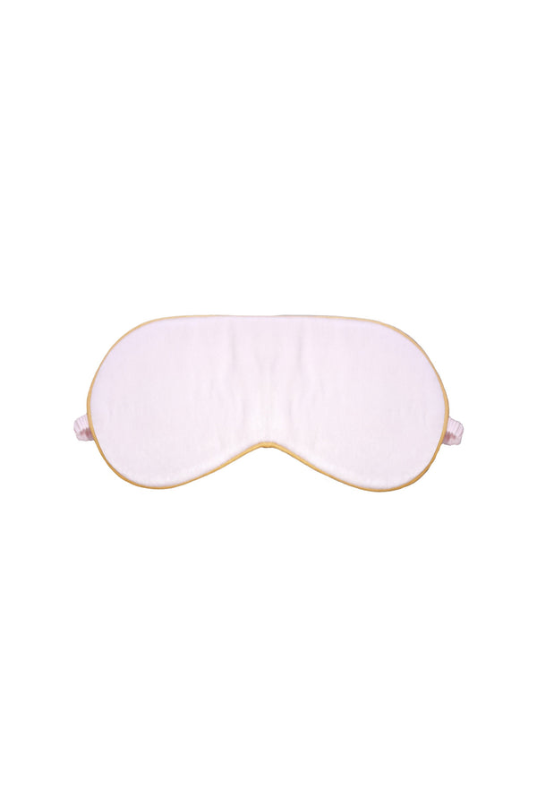 Seraphina Silk Eye Mask in Pink