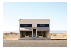 Fashion Prada Shop Art Installation Texas Desert Print Wall Print Framed Art Poster Image Online Photo Painting Living Lounge