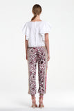 Rose Garden Gold Harem Pants