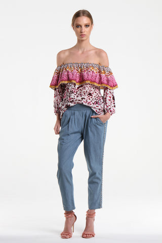 Gala Rose Off The Shoulder Blouse