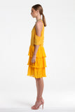 Lucia Mireille Dress - Mustard (also comes in navy and black)