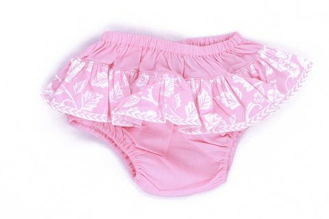 Pink Asian Fusion Cotton Bloomers