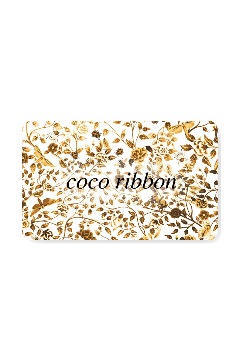 Coco Ribbon Gift Card
