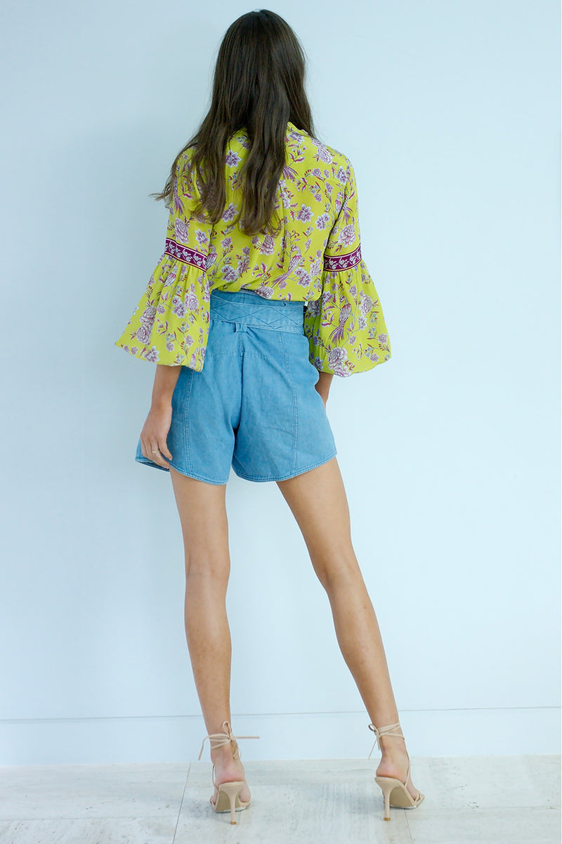 Love Me Tender Silk Blouse