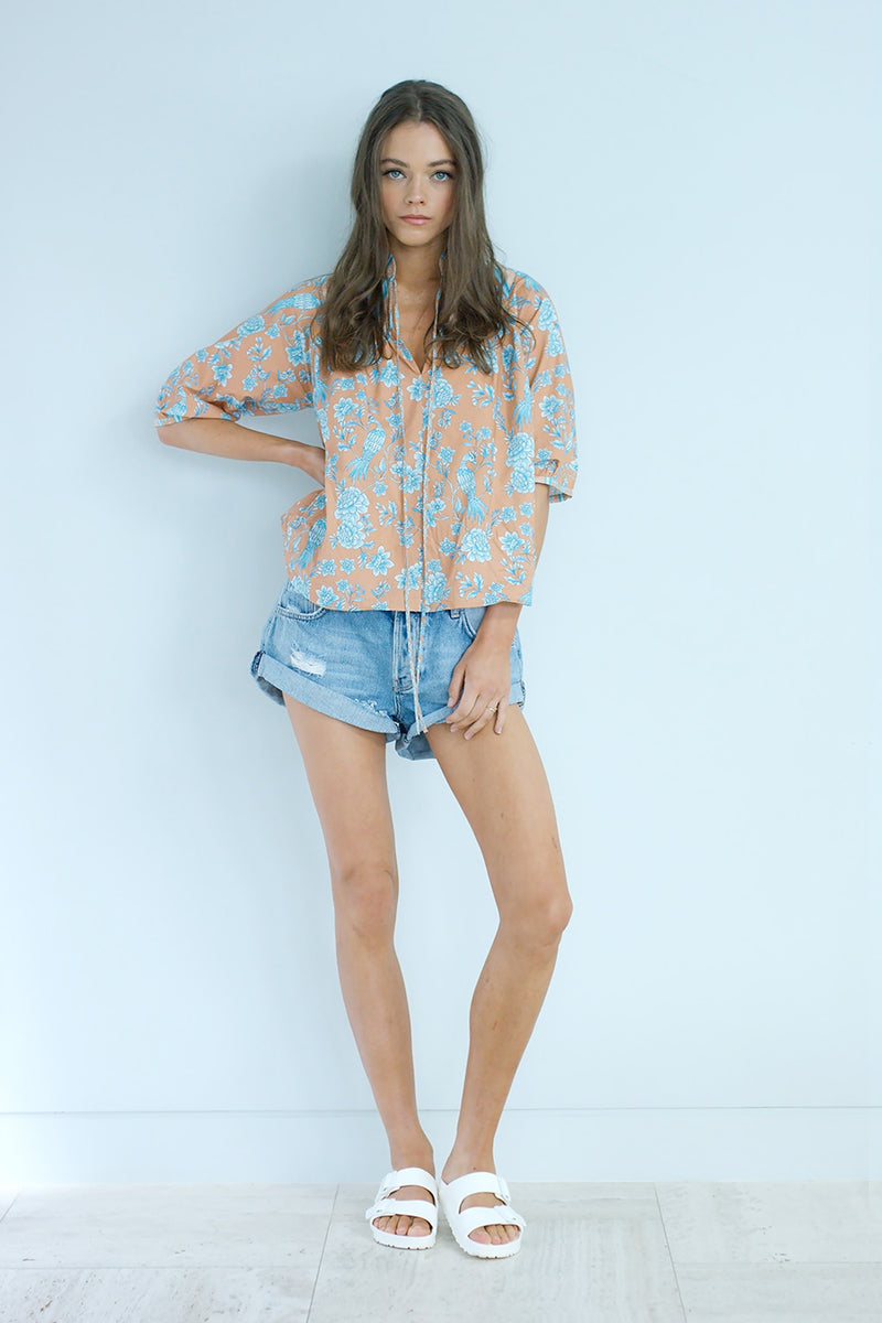 Serendipity Chinoiserie Blouse